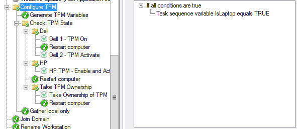 Enabling, Activating, and Owning the TPM for the Enable BitLocker