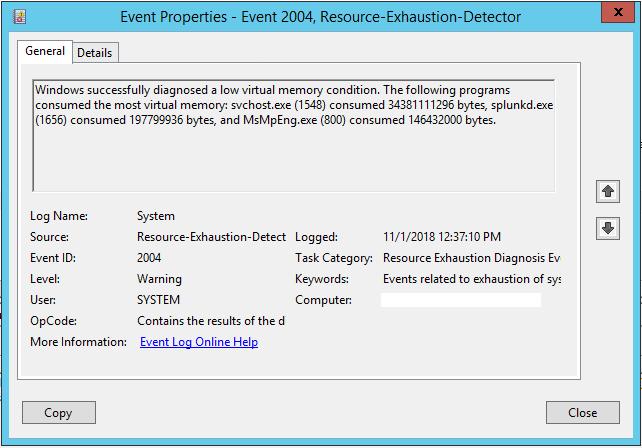 windows 10 event id 37